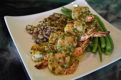 Chimichurri Grilled Shrimp