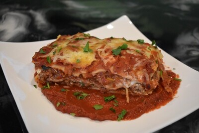 Beef and Vegetable Lasagna