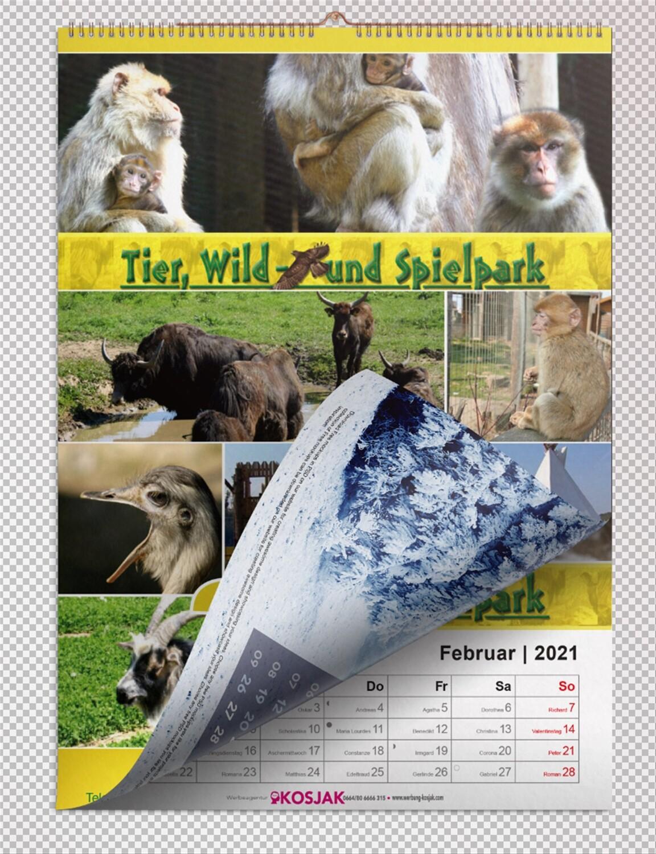 Foto-Jahreskalender Tierpark Preding