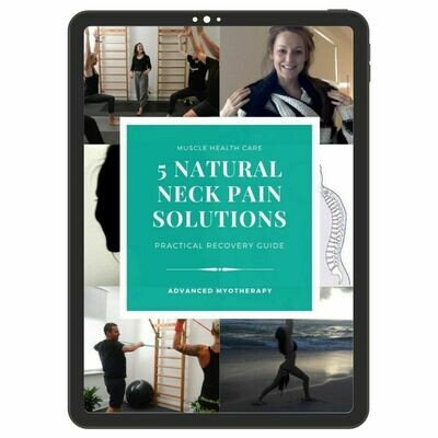 5 Natural Neck Pain Solutions
