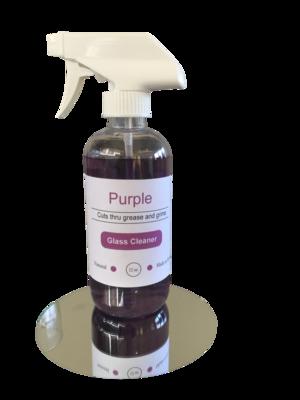 Purple Glass Cleaner 12 oz