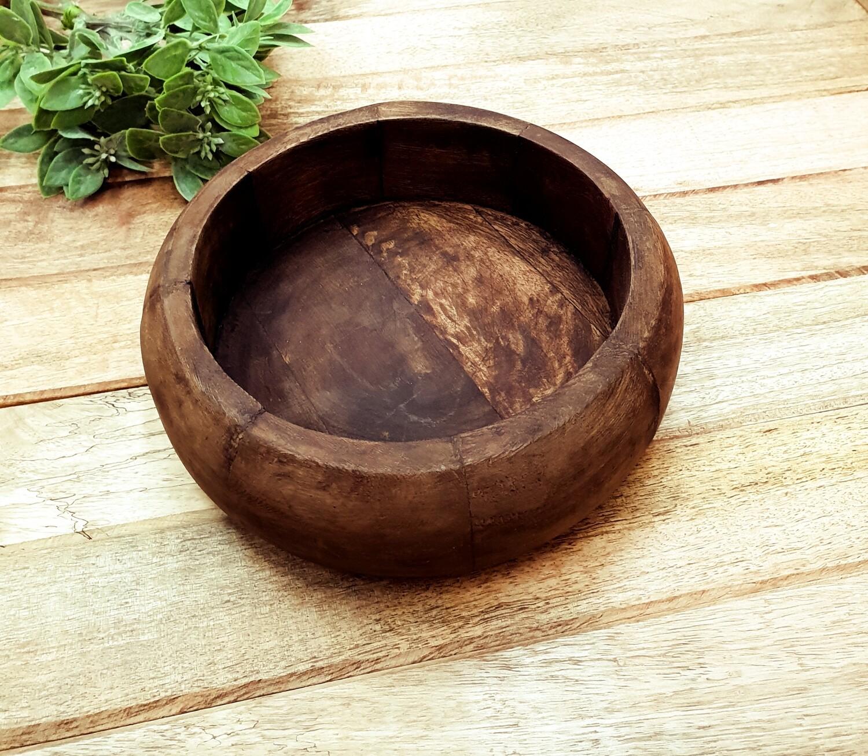 Round Mango Wood 20cm