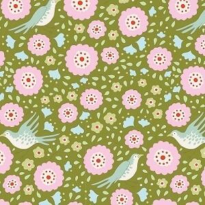 Birdpond Lovebirds Green