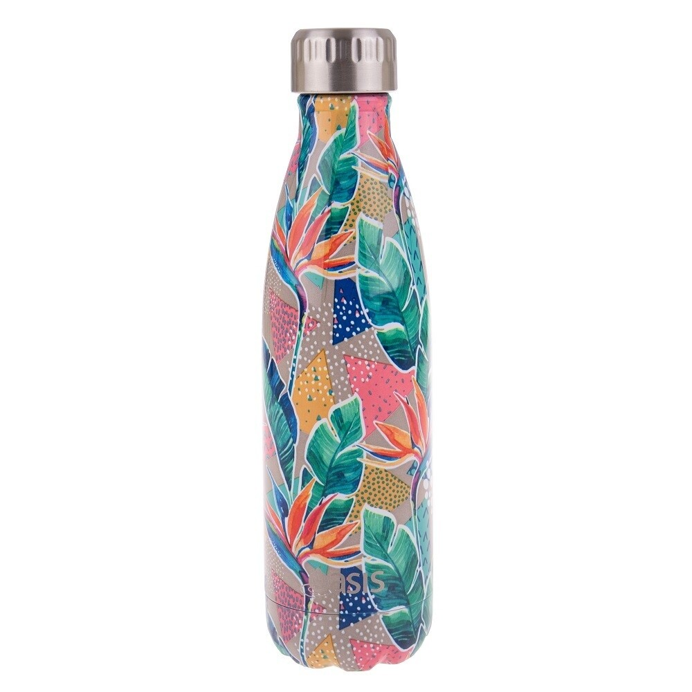 Drink Bottle 500ml Botanical