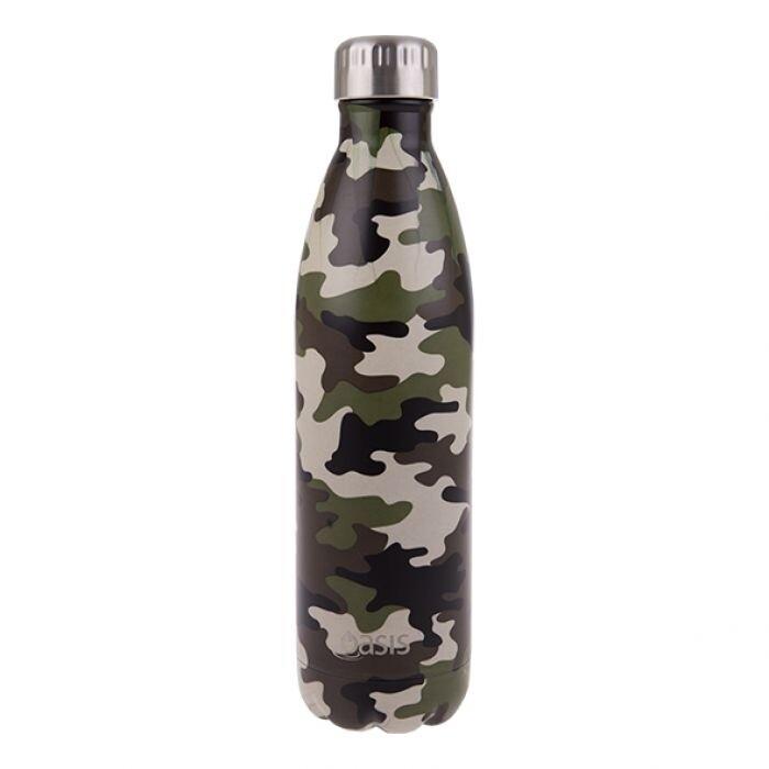 Drink Bottle 750ml Camo Green