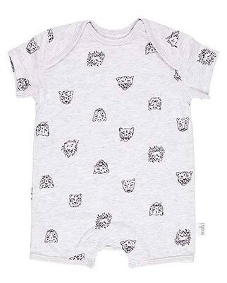 Onesie S/S Big Cats