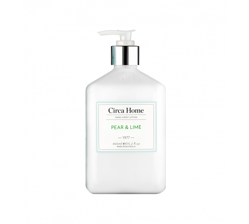 Pear & Lime Hand & Body Lotion