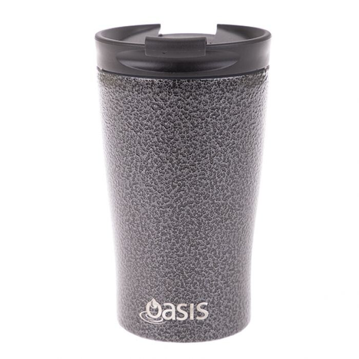 Travel Cup 350ml Hammertone Grey