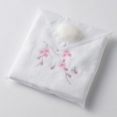 Blossom Hand Towel & Soap