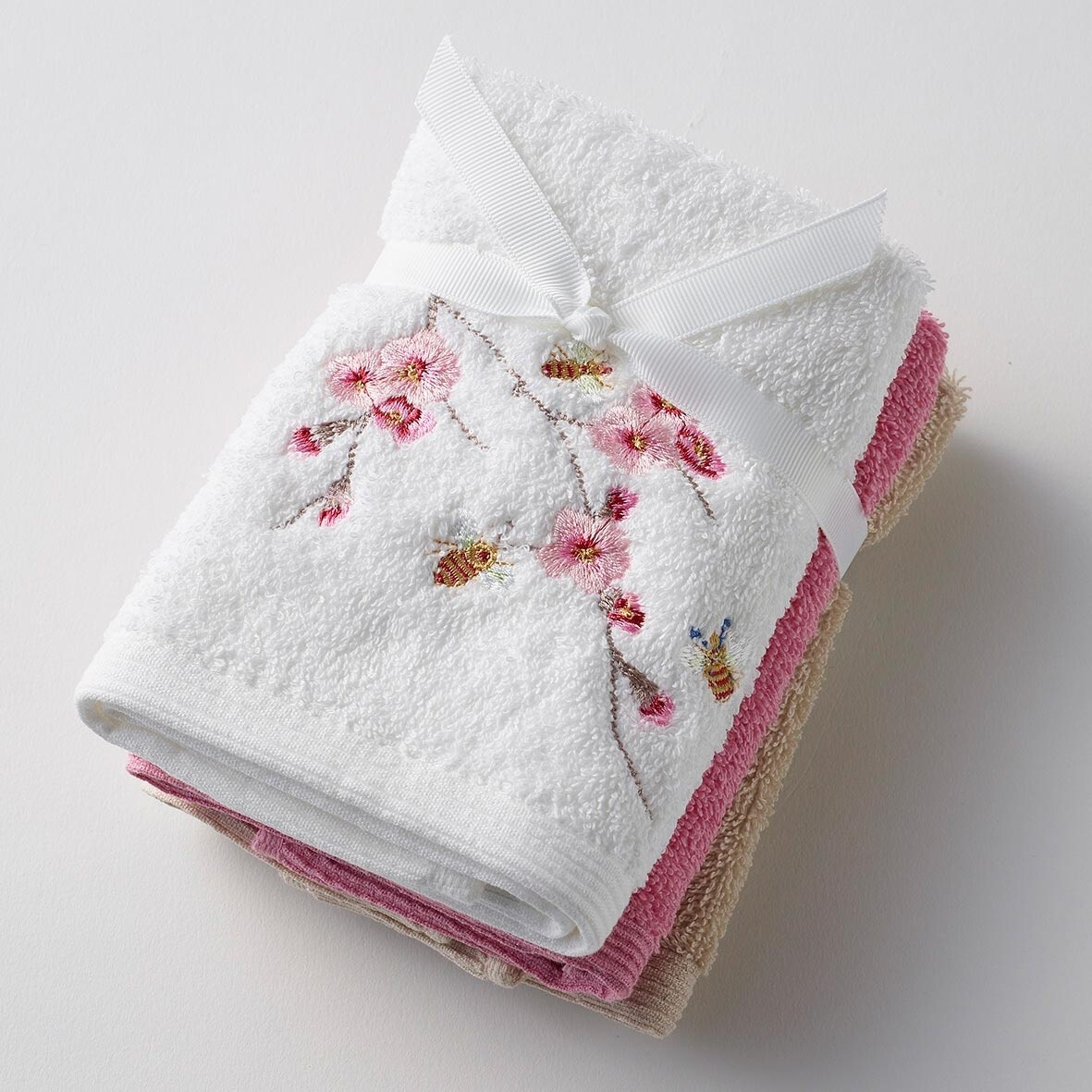 Blossom 3 Face Washer Pack