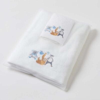 Jungle Jive Towel & Washer Set