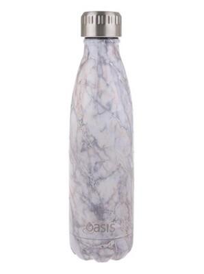 Drink Bottle 500ml Silver Quartz