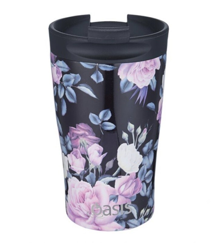 Travel Cup 350ml Midnight Floral