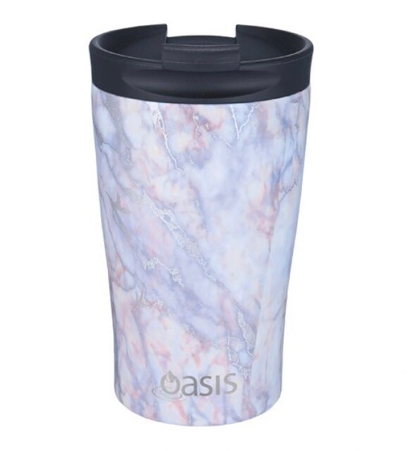 Travel Cup 350ml Silver Quartz