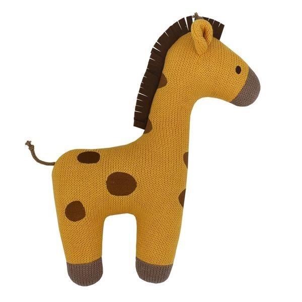 Giraffe Knit Cushion