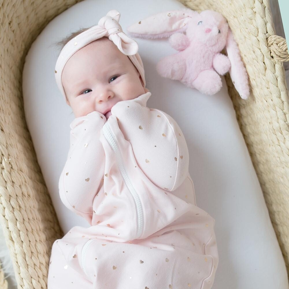 Swaddle Hearts 0-3m
