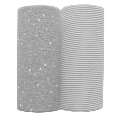 Jersey Wraps-Grey Star/Stripe
