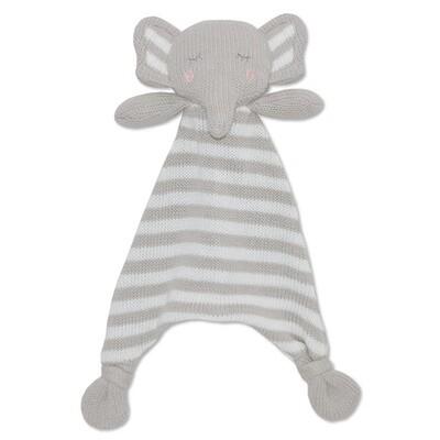 Eli The Elephant Knit Security
