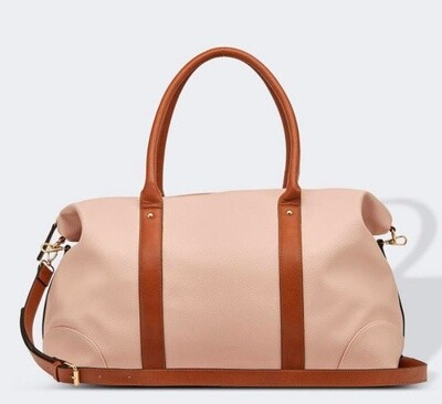 Alexis Travel Bag Dusty Pink