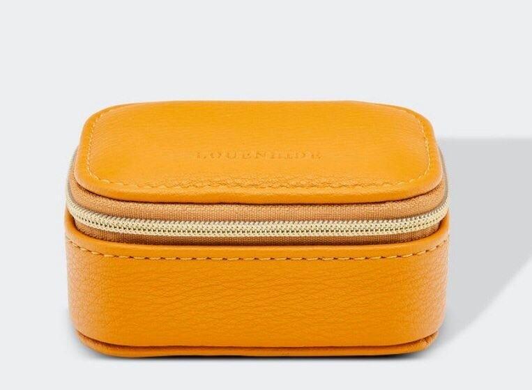 Suzie Jewellery Box Mustard