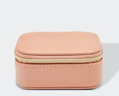 Suzie Jewellery Box Nude Pink