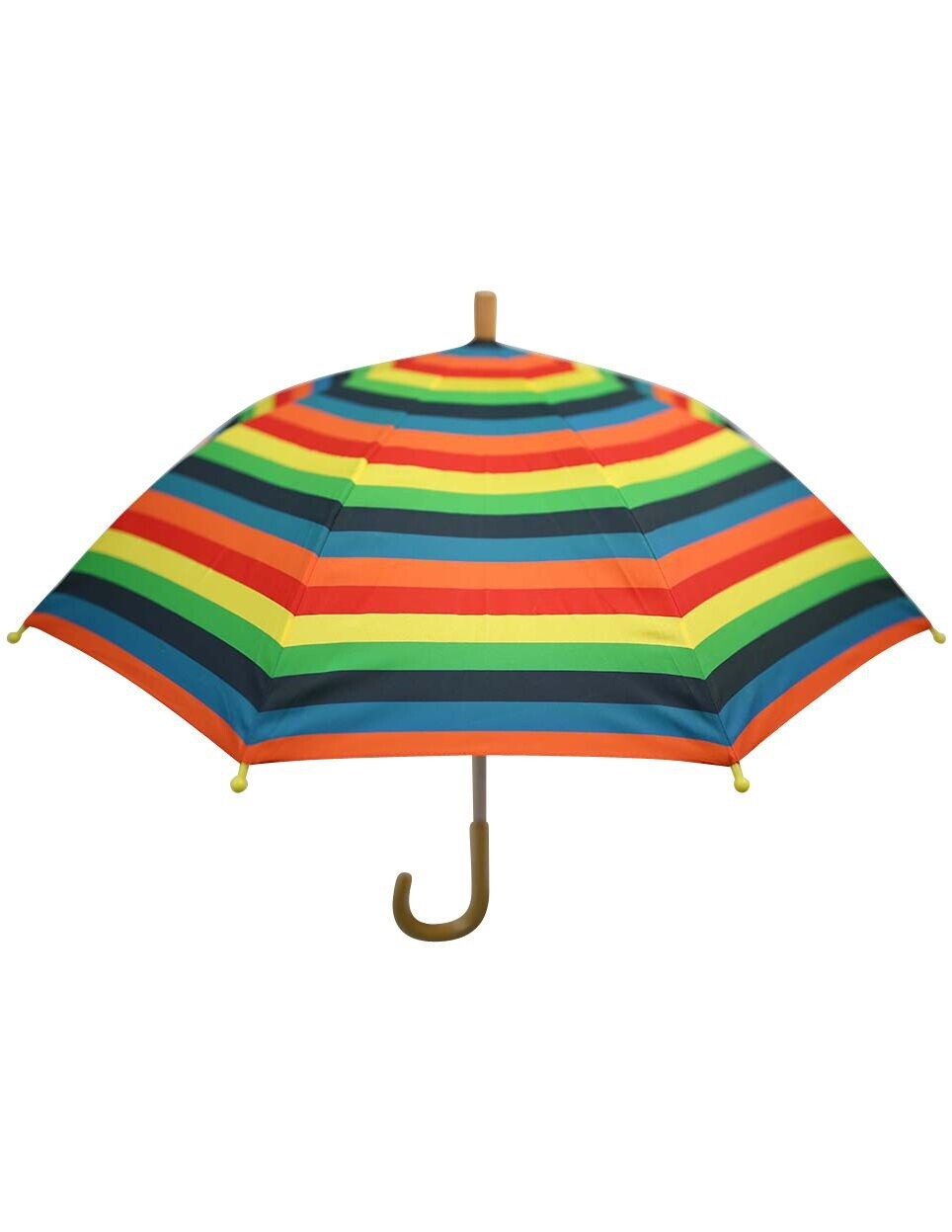 Rainbow Striped Umbrella Boy
