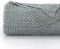 Grey Knitted Rug