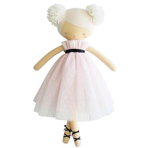 Scarlett Pom Pom Doll Pink