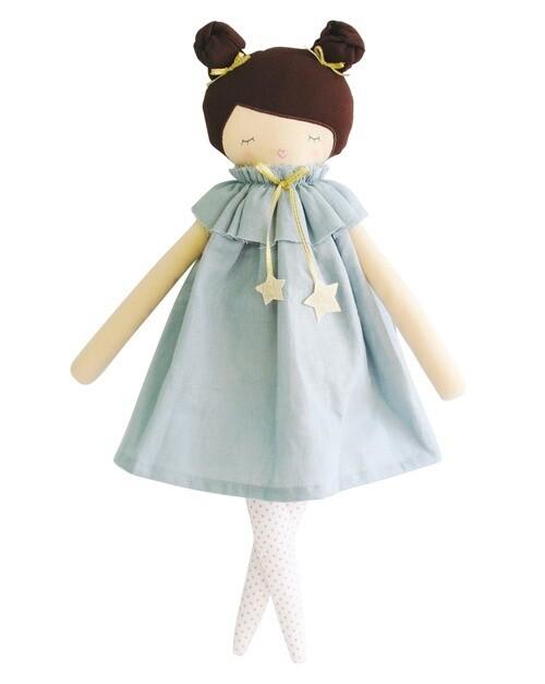 Jessie Doll Grey Linen