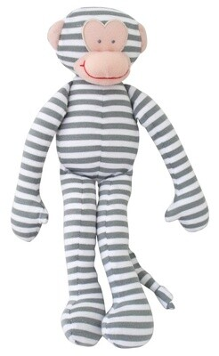 Monkey Rattle Grey Stripes