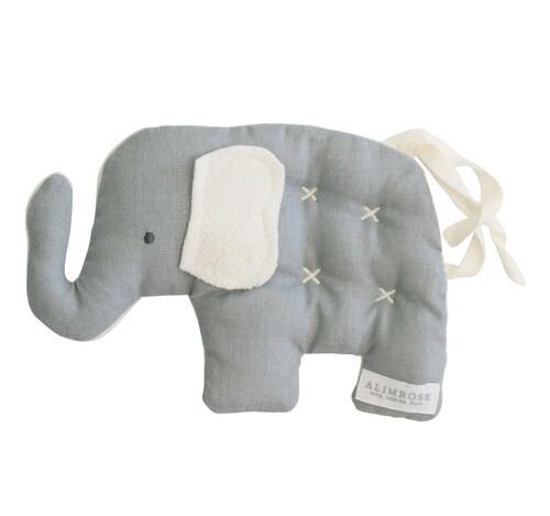 Toby Elephant Comfort Toy Grey
