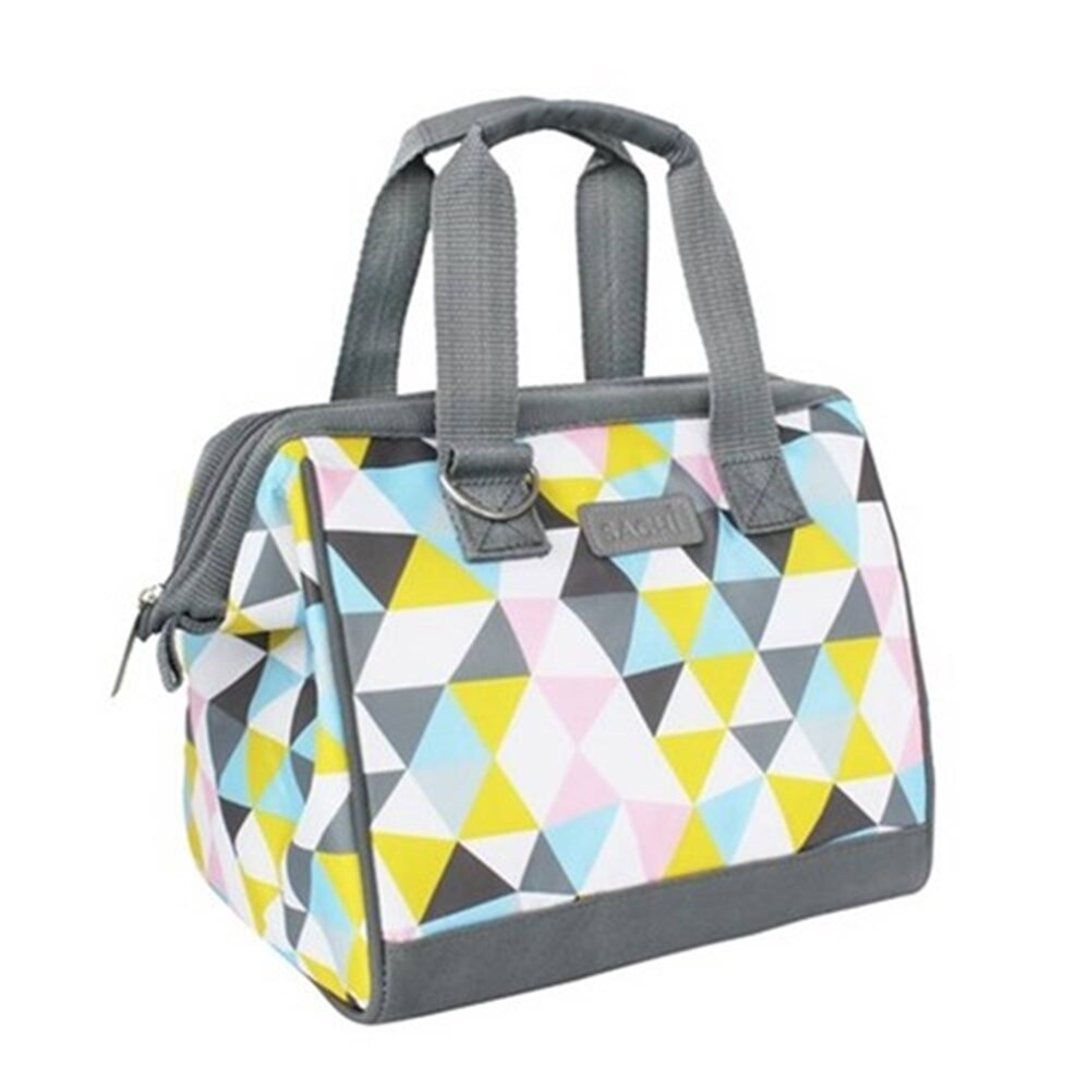 Insulated Lunch Bag-Triangle Mosaic
