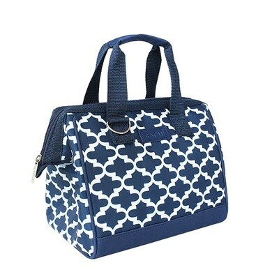 Insulated Lunch Bag-Moroccan Navy