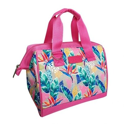 Insulated Lunch Bag-Botanical