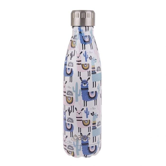 Drink Bottle 500ml -Llamas