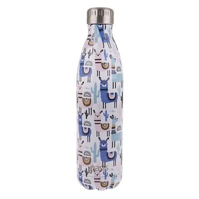 Drink Bottle 750ML Llamas