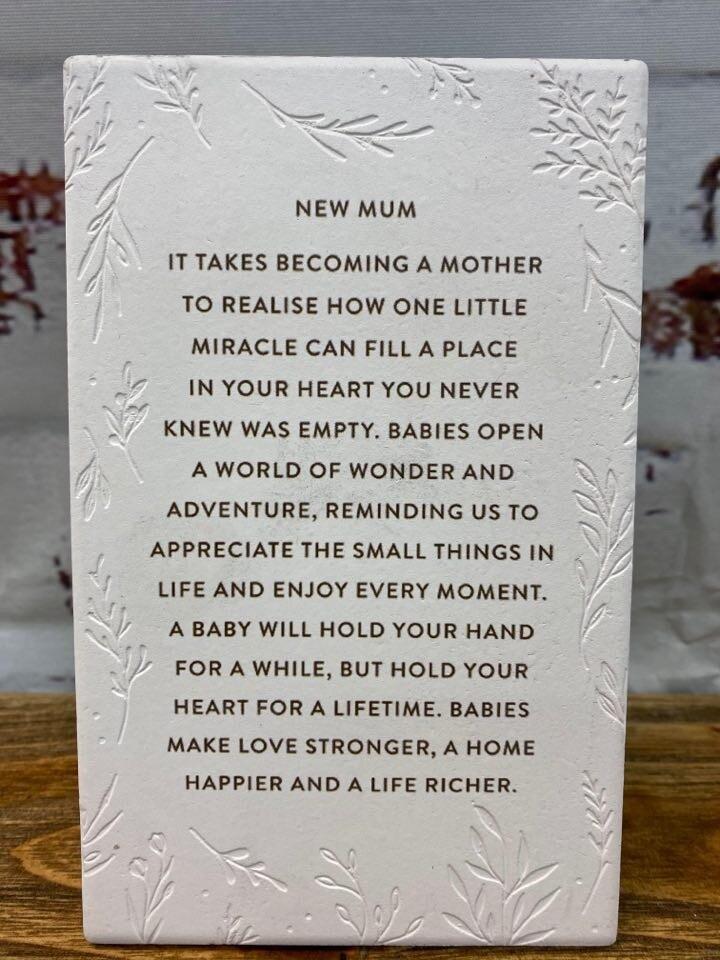 New Mum Life Quote
