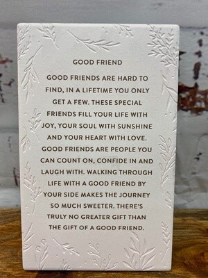 Good Friends Life Quote