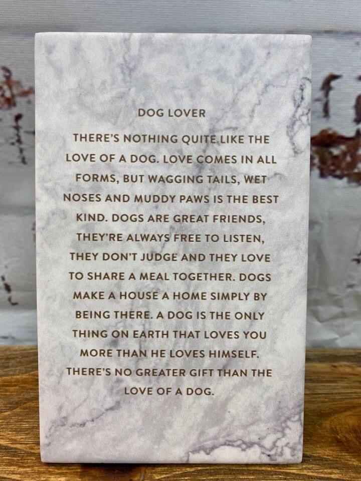 Dog Lover Life Quote