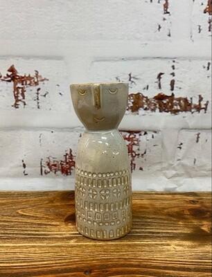 Sahara Lady Vase White 13cm