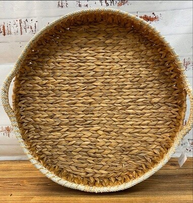 Round Tray With Rope 51cm