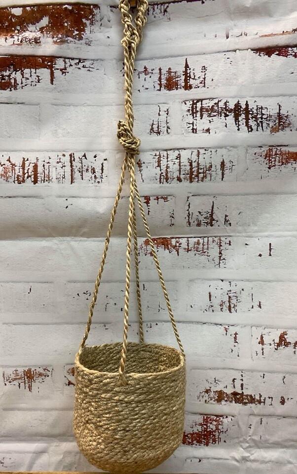 Jute Hanging Basket 90cm