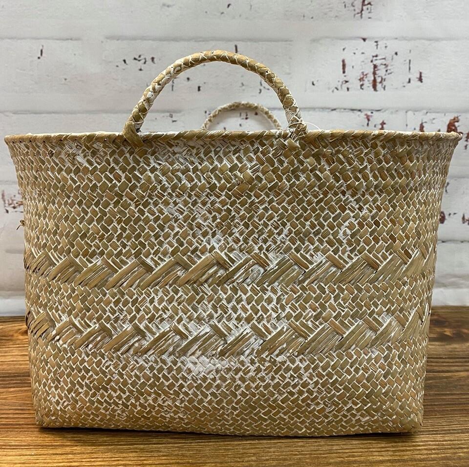 Woven Eve Basket Lg