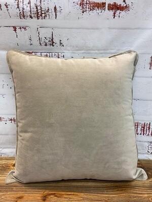 Velvet Cushion Latte