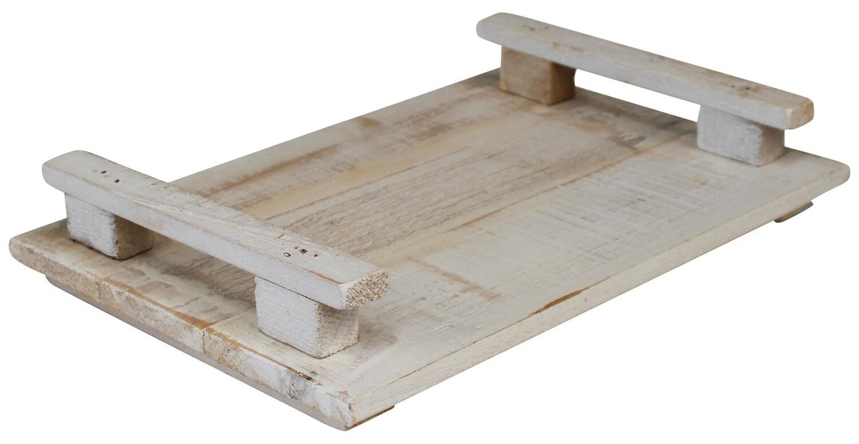 White Wash Tray Lg