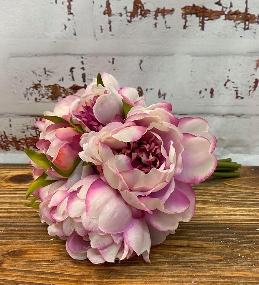 Peony Bouquet 26cm