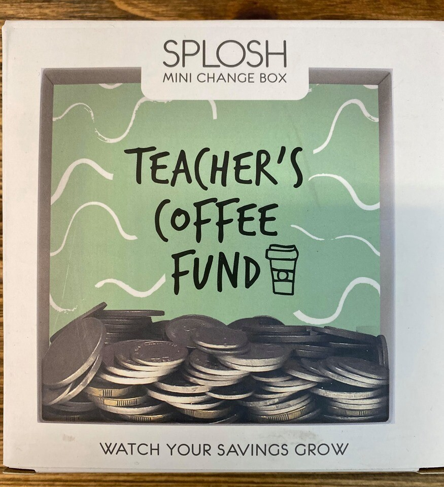 Teacher Coffee Mini Change Box