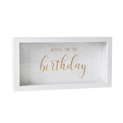 Birthday Message Box