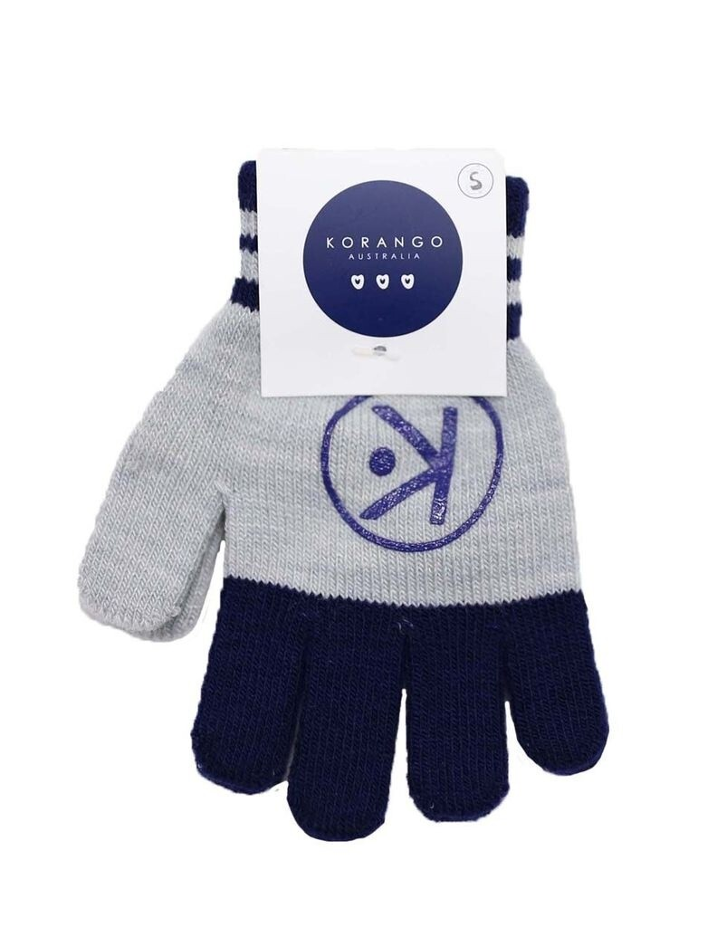 Gloves - Charcoal/Navy