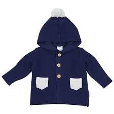 So Bunny Knit Jacket - Navy